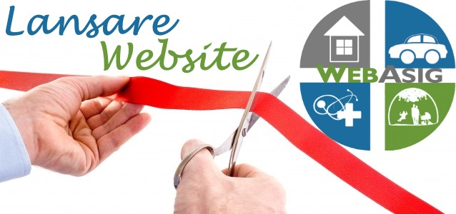 Lansare Website Web ASIG